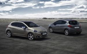 peugeot 208 Ice Grey ice silver lackierung