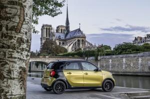 Smart electric drive Forfour: Hersteller erweitert Palette