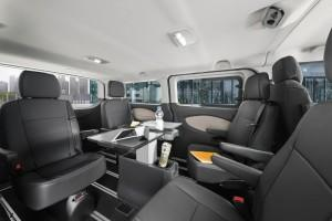 ford tourneo custom business edition innenraum