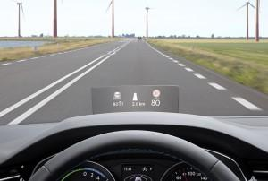 vw passat 2015 Head-up-Display