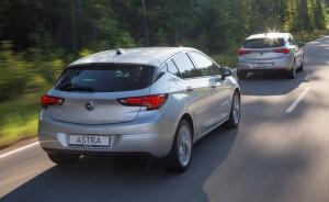 Opel Astra 2015 Safety Assistance Systems