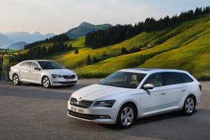 SKODA Superb GreenLine 2015