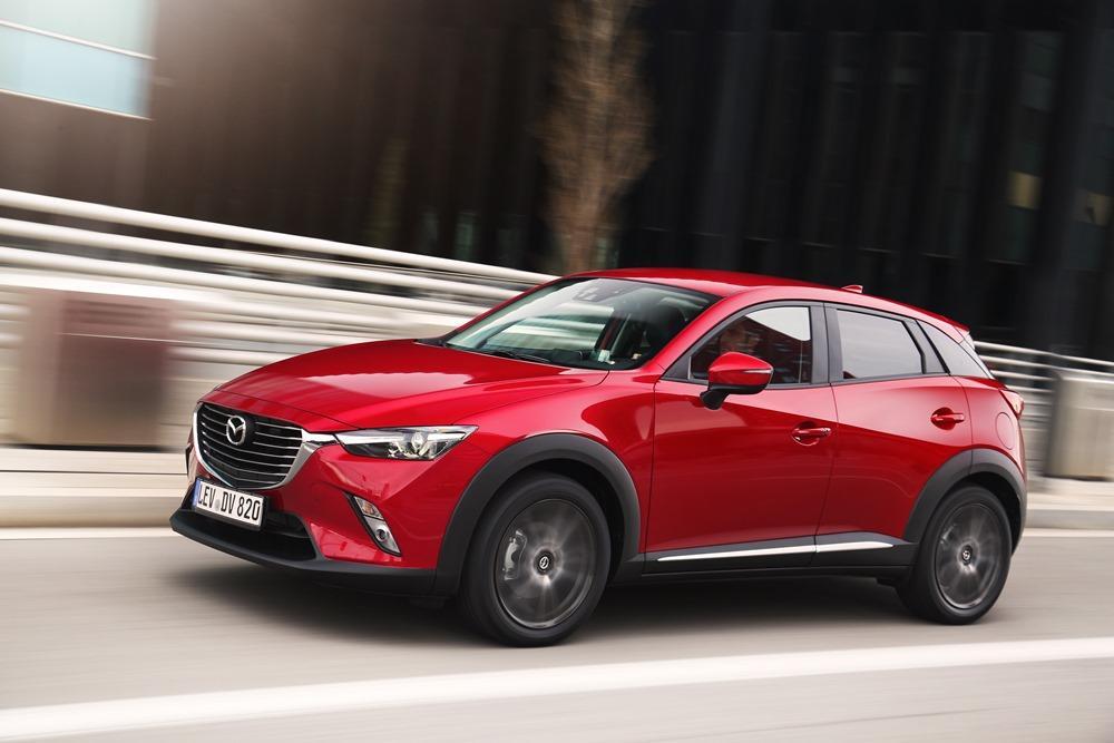 Mazda Cx 3 Test Auch Die Japaner Sind Beim Mini Suv Zug