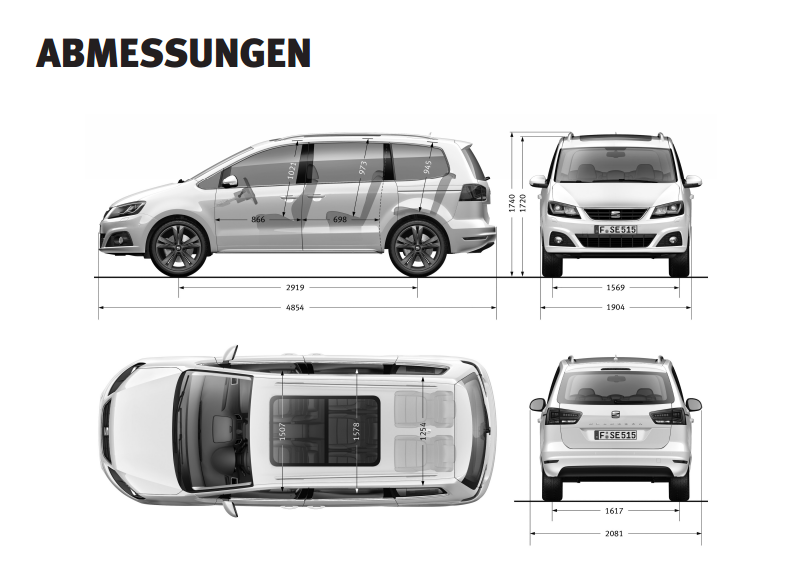 seat alhambra 2 0 tdi ecomotive test 2015 sparsam in schwung gebracht. Black Bedroom Furniture Sets. Home Design Ideas