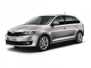 Skoda Rapid Spaceback Sondermodell Joy 2015