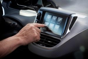peugeot 208 2015 Touchscreen