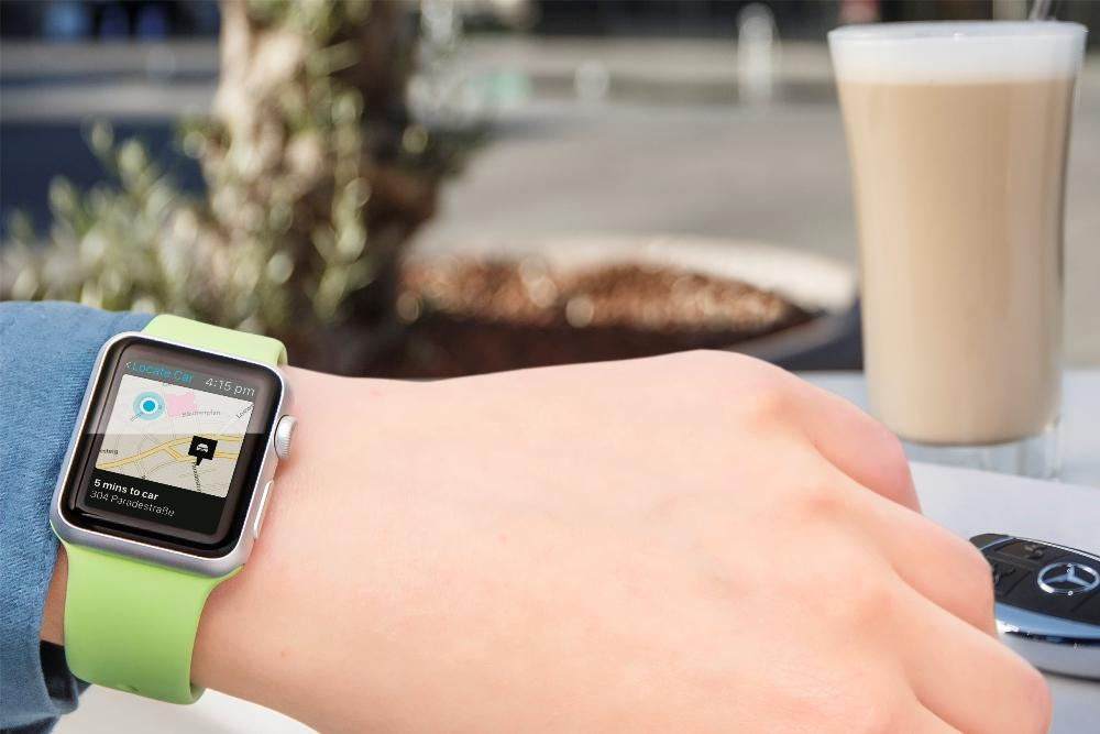 Mercedes me app intelligent vernetzt mit dem handy for Mercedes benz watch