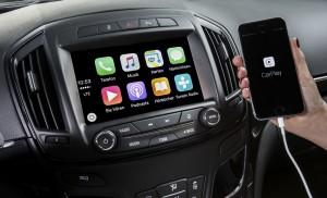 Opel Insignia IntelliLink 2015 CarPlay