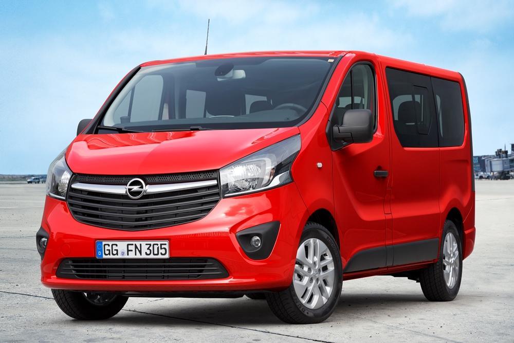 Opel Vivaro Combi Test (2015) darf es ein wenig mehr sein
