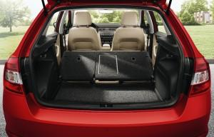 SKODA Rapid Spaceback 2015 Interieur Kofferraum