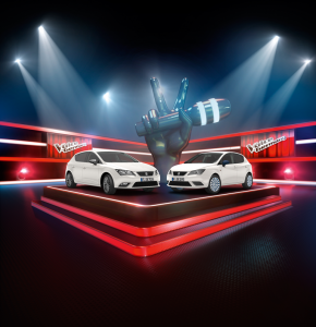Seat Connect Sondermodelle Leon Ibiza Voice of Germany 2015