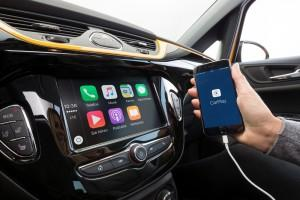 Opel Corsa 2015 IntelliLink Apple CarPlay