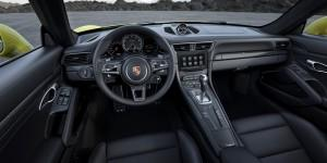 Porsche 911 turbo 2015 innen cockpit