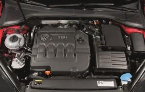 VW Golf 7 TDI 2016 Motor technik