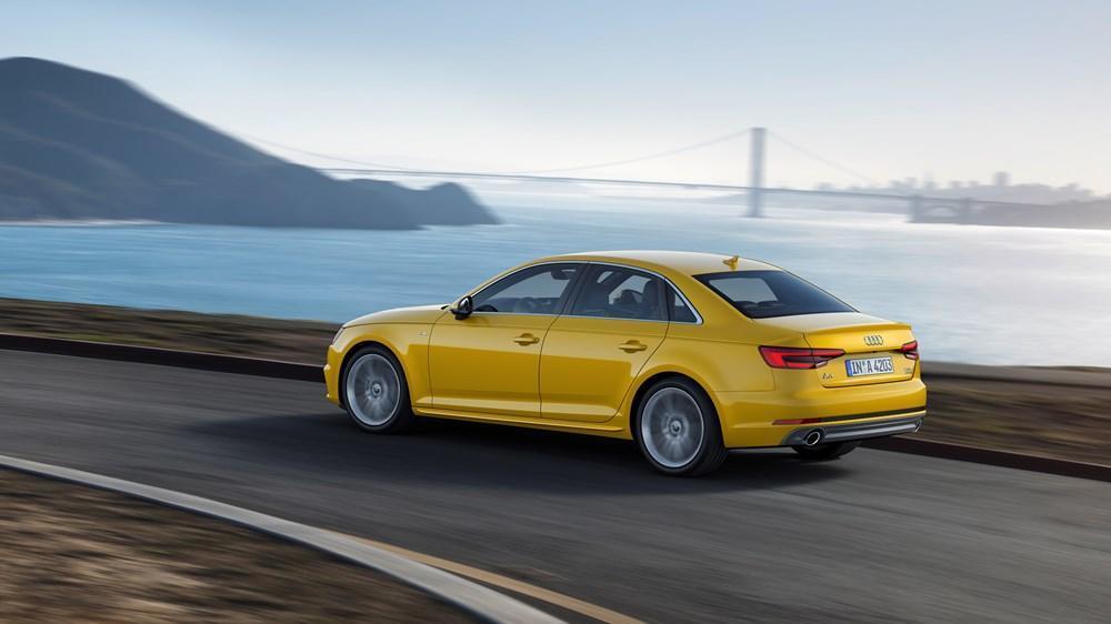 audi a4 test (2016): neuer unscheinbarer luxusliner - meinauto.de