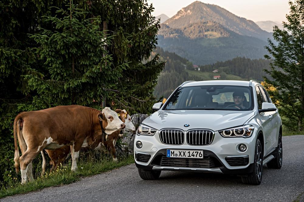 bmw x1 test 2016 sag niemals suv zu ihm. Black Bedroom Furniture Sets. Home Design Ideas