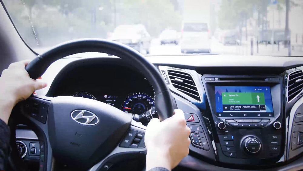 Auto cockpit straße  Hyundai bringt Android Auto nach Deutschland - MeinAuto.de