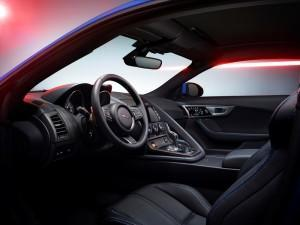 Jaguar F-Type 2015 British Design Edition innen cockpit