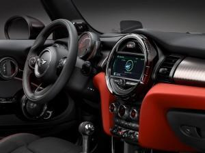 Mini John Cooper Works Cabrio 2016 innen cockpit