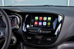 Opel Karl 2015 innen cockpit display