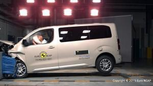 Peugeot Traveller 2015 NCAP Crashtest fontal