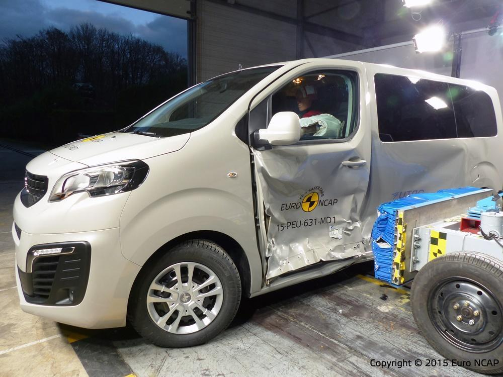 ncap crashtest bestwertungen f r vans von peugeot toyota. Black Bedroom Furniture Sets. Home Design Ideas