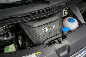 VW Multivan T6 2016 technik motor tdi