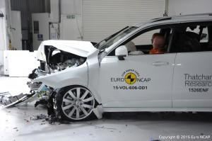 Volvo XC90 NCAP Crashtest 2015 Frontal Crash