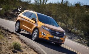 Ford Edge 2016 außen vorne dynamisch