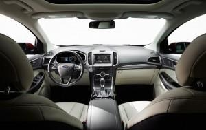 Ford Edge 2016 innen cockpit