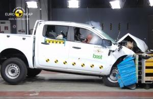 Ford Ranger 2016 ncap crashtest frontal