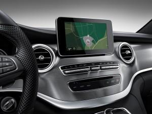 Mercedes V-Klasse 2016 Exclusive Cockpit innen navi