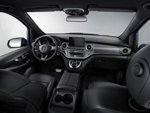 Mercedes V-Klasse 2016 Exclusive innen cockpit