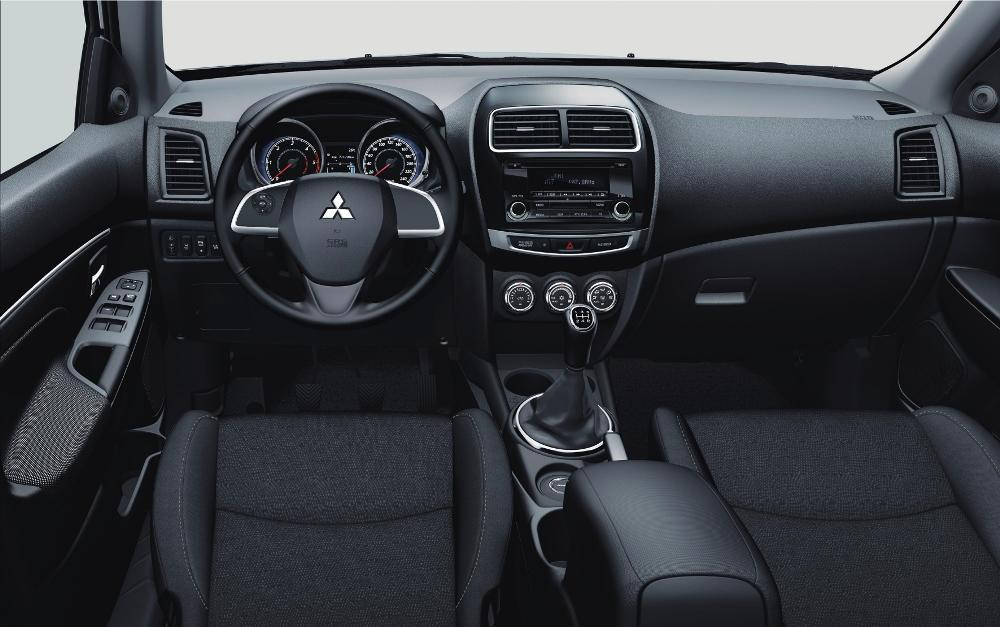 mitsubishi asx test (2016): ein unscheinbarer suv - meinauto.de