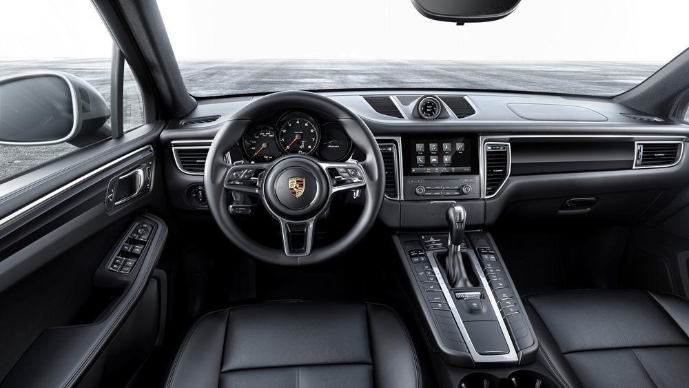 Porsche Macan Vierzylinder Turbomotor F 252 R Einstiegsmodell