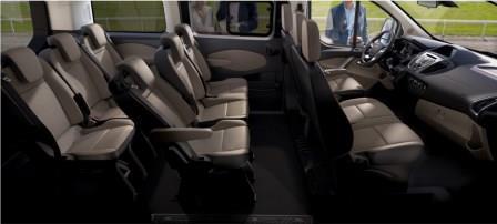 ford tourneo custom test 2016 neuer kleinbus mit gro en. Black Bedroom Furniture Sets. Home Design Ideas