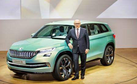 skoda kodiaq hersteller pr sentiert gro en suv. Black Bedroom Furniture Sets. Home Design Ideas
