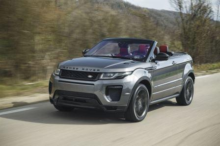 range rover evoque verkaufsstart des cabriolet. Black Bedroom Furniture Sets. Home Design Ideas