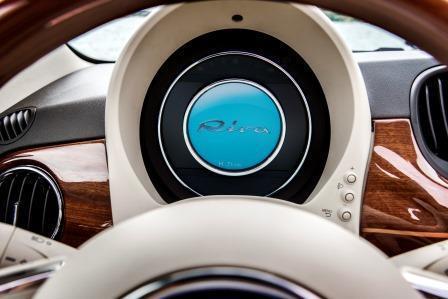 fiat 500 riva im test eine yacht als sondermodell. Black Bedroom Furniture Sets. Home Design Ideas