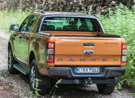 ford ranger wildtrak im test: des neuen pick-ups luxuriöse krone