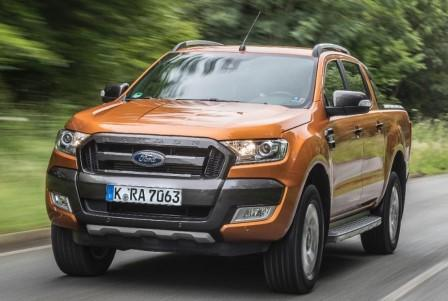 ford ranger wildtrak im test des neuen pick ups luxuri se krone. Black Bedroom Furniture Sets. Home Design Ideas
