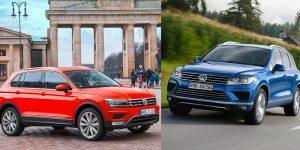 VW Tiguan vs. Touareg: Wer passt zu wem?