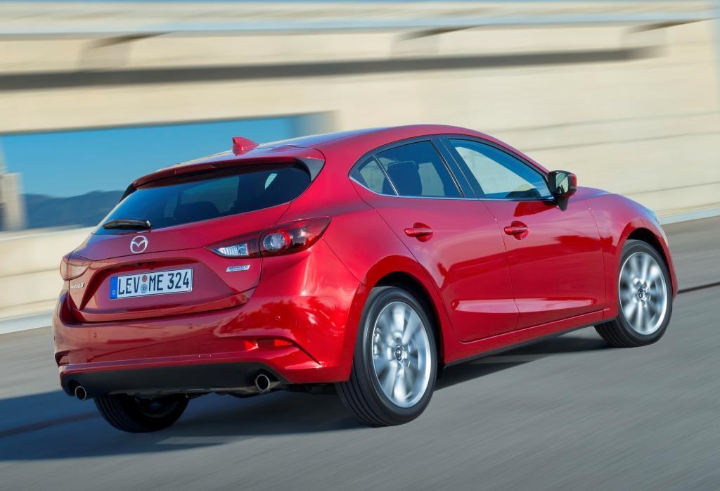 Mazda 3 Als 5 Turer Im Test 2016 Das Facelift Mit Der Feinen