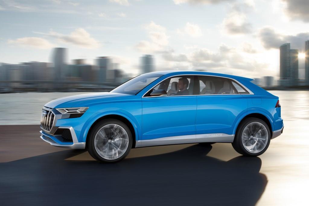 Audi Q8: Concept in Detroit vorgestellt