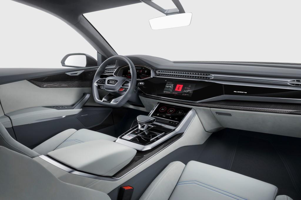 audi q8: concept in detroit vorgestellt - meinauto.de