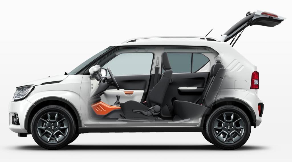 Suzuki Ignis 2017 Ausen Innen Modell