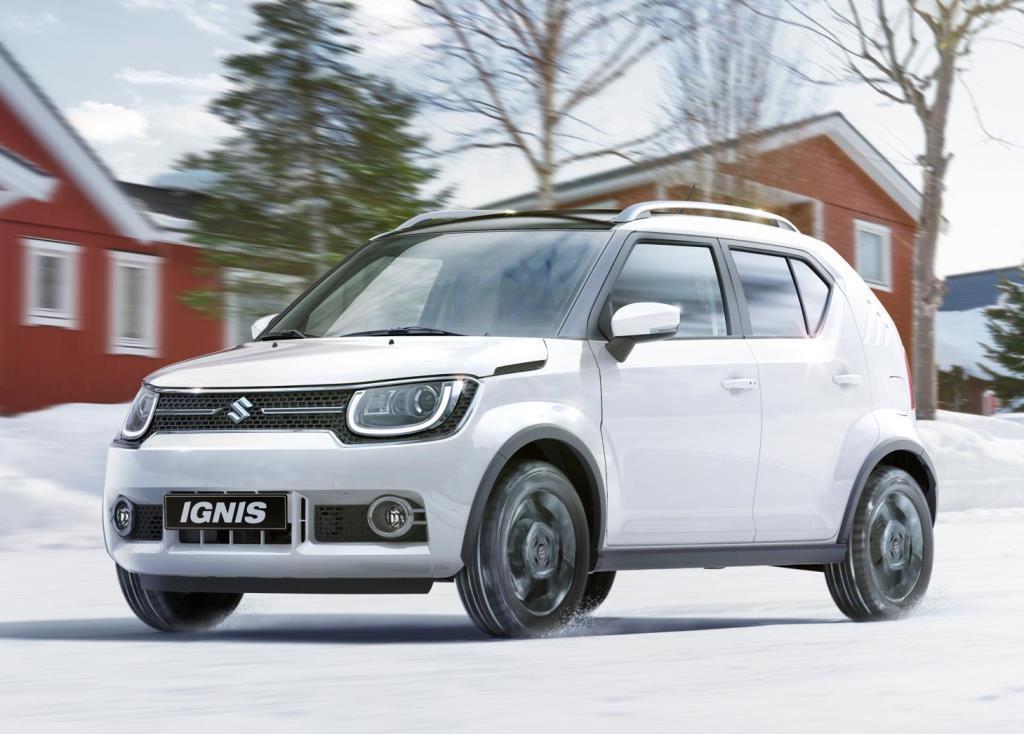 Suzuki Ignis 2017 Ausen Vorne Dynamisch