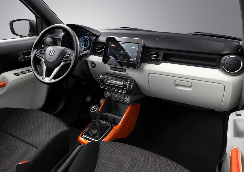 Suzuki Ignis 2017 Innen Cockpit