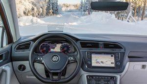Volkswagen präsentiert Frontscheibe mit Silber