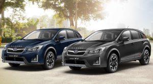 "Subaru XV und Forester als ""Limited Edition"""